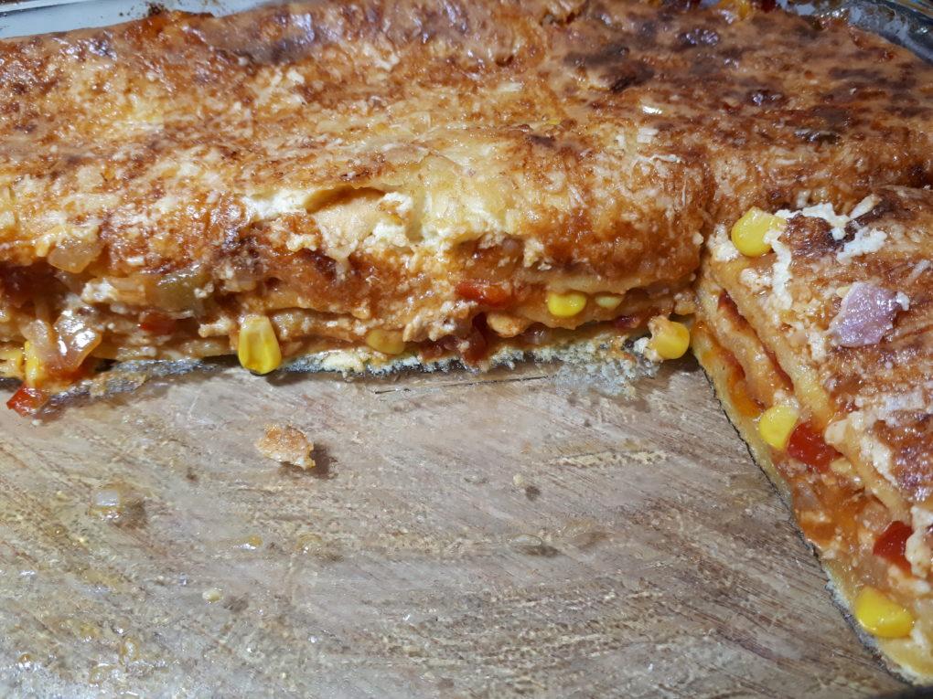 Chicken Enchilada Auflauf