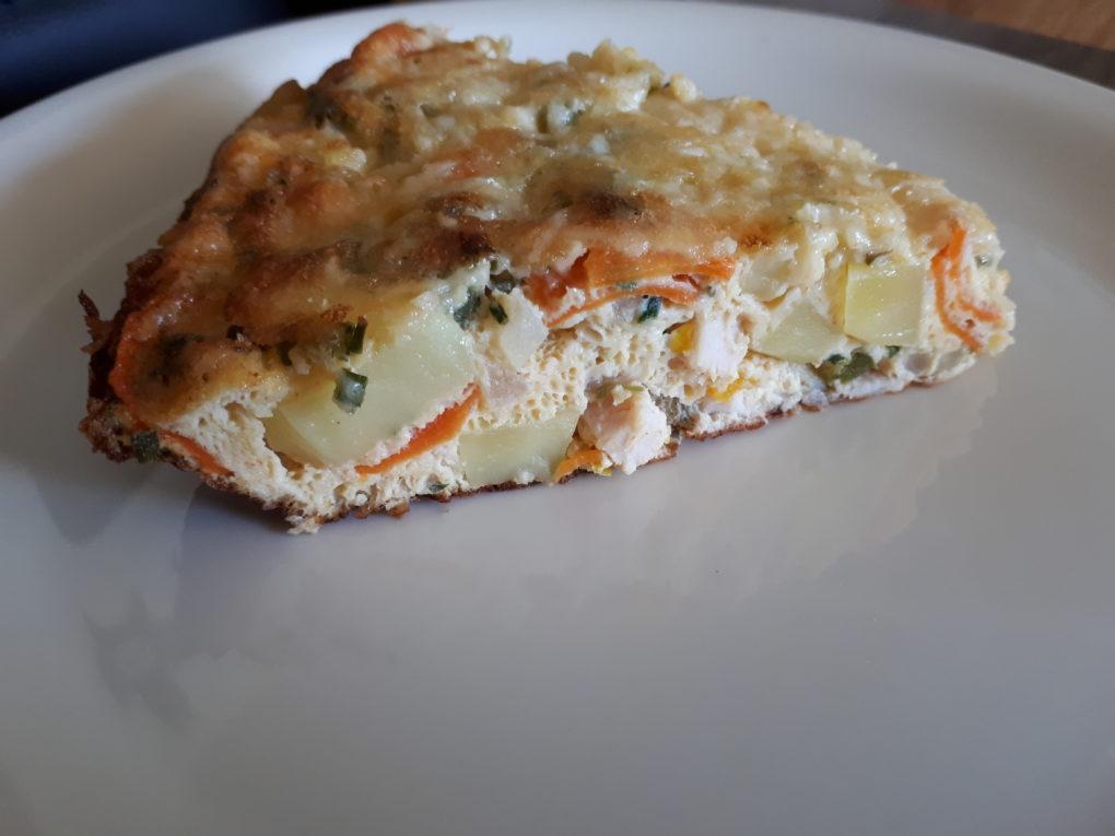 Kartoffel-Gemüse-Frittata