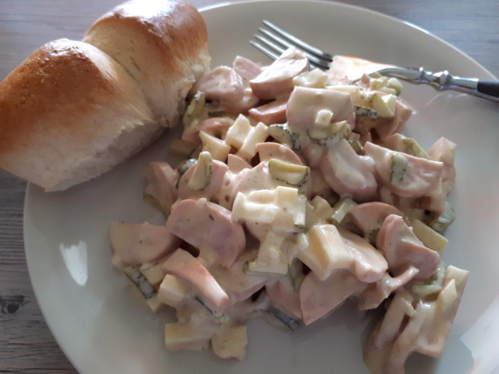 Wurst-Kaese Salat