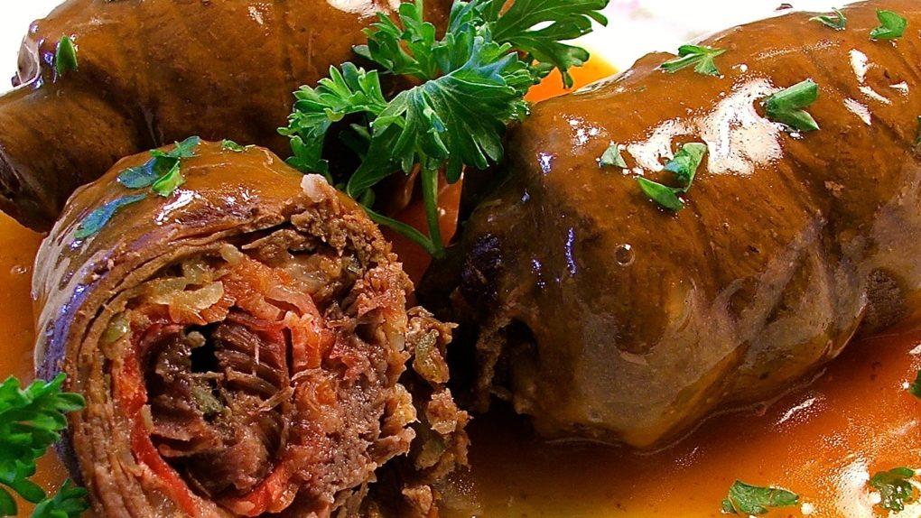 Oktoberfest Rindfleisch Rouladen