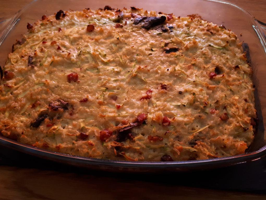 Zucchini – Reis – Auflauf