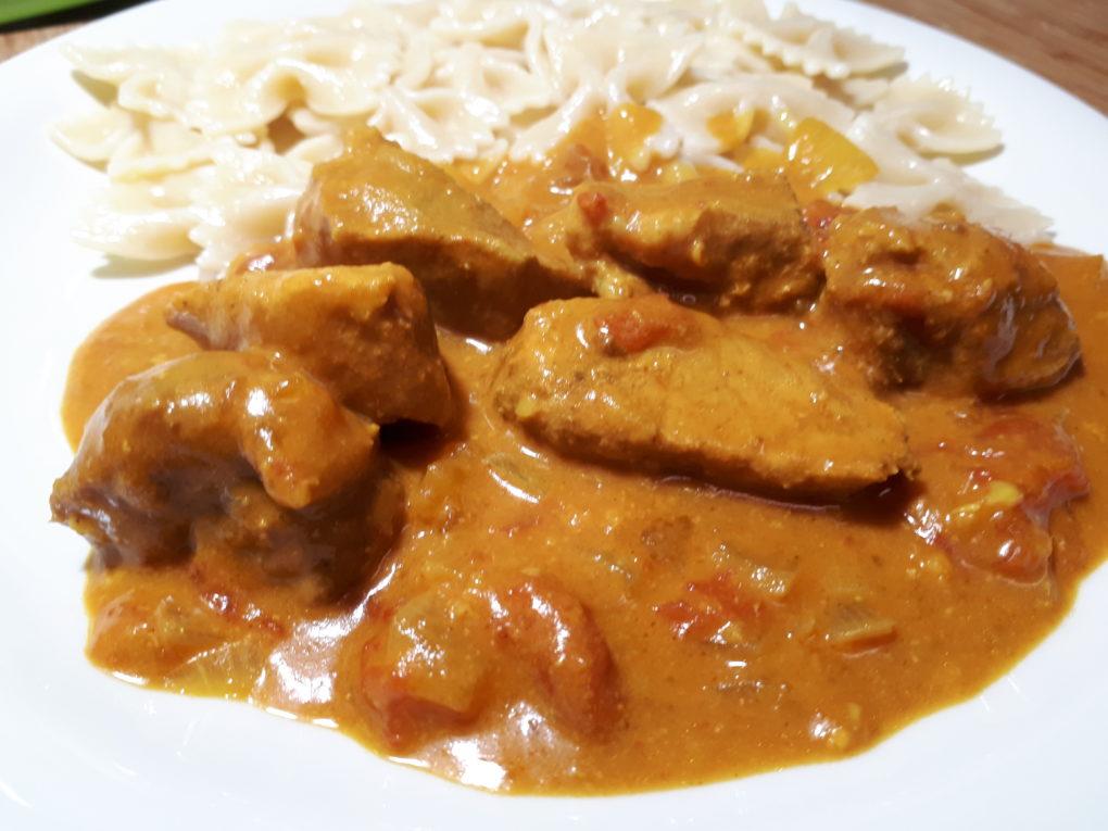 Slow Cooker-Kokosnuss-Schweinefleisch-Curry