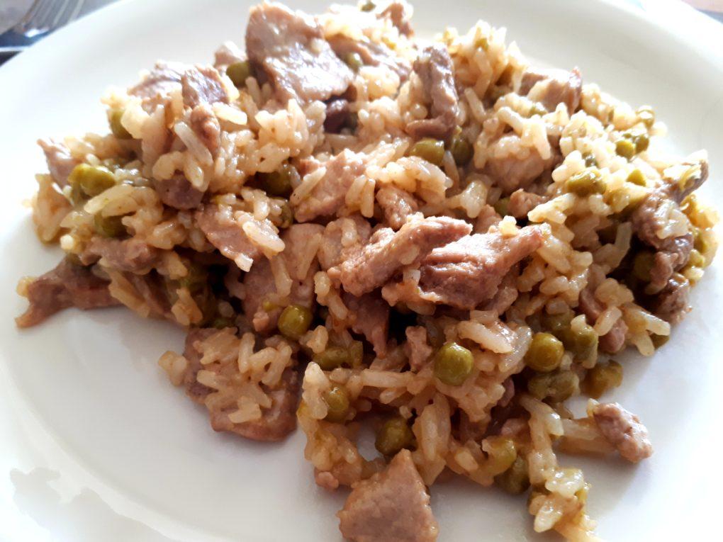 Dirty Rice mit Schweinefleisch