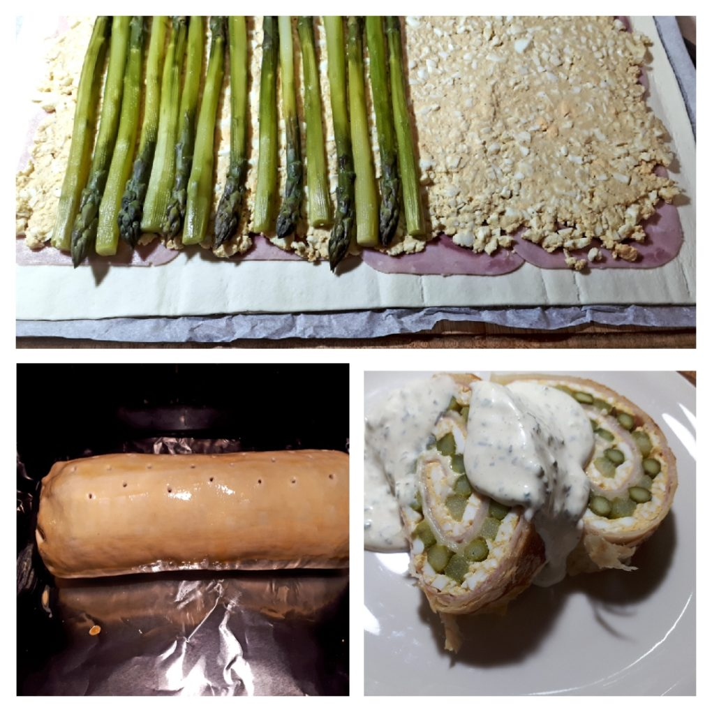 Spargel Roulade
