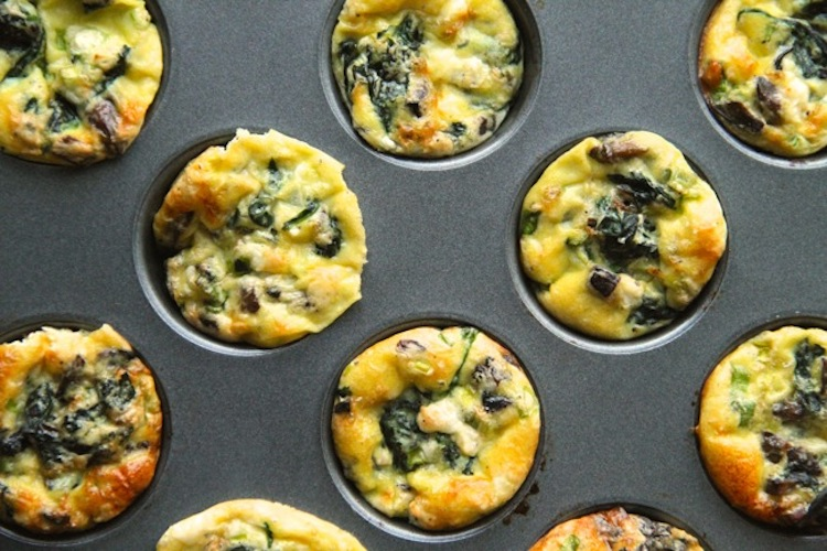 Spargel-Frittata-Muffins