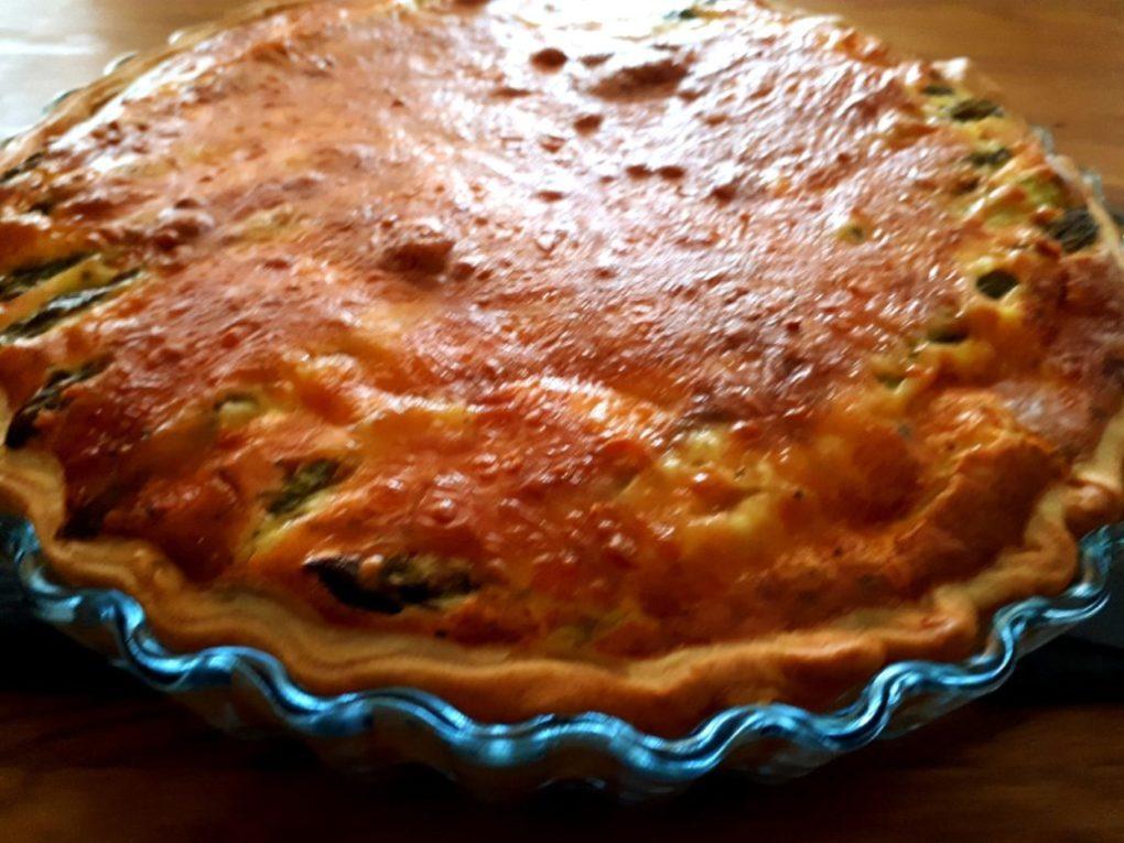 Grüne Spargel-Kuchen