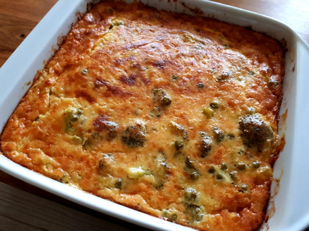 Brokkoli-Käse-Auflauf