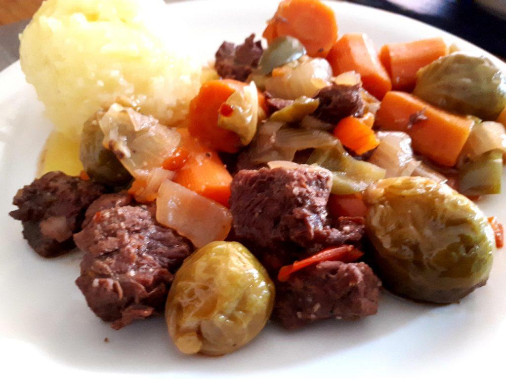 Instant Pot® Beef Gemüse Eintopf